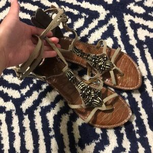 Sam Edelman Beaded Sandals size 6